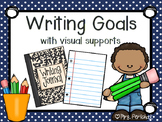 Writing Goals with Visual Supports