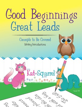 Writing Good Beginnings and Great Leads