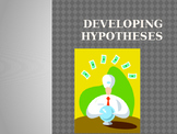 Writing Good Hypotheses PowerPoint