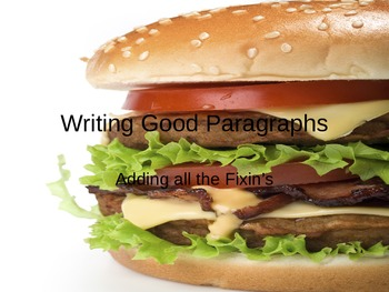 Writing Good Paragraphs Power Point Presentation