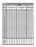 Writing Gradebook (Common Core)