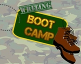 Writing Grammar Boot Camp - Smartboard and Printouts