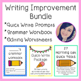 Writing/Grammar Practice and Improvement BUNDLE