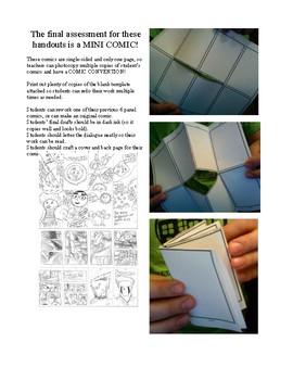 Writing Graphic Novels Unit Plan, Part 6