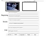 Writing Graphic Organizer- Astronaut