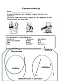 Writing Graphic Organizer: Clementine Series, grade 3