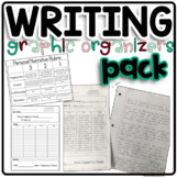 Writing Graphic Organizer Pack