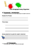 Writing Graphic Organizer for a 5 Paragraph Essay Bing, Ba