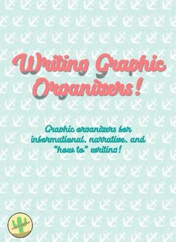 Writing Graphic Organizers!