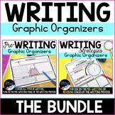 Writing Graphic Organizers Bundle: Prewriting and Writing