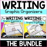 Writing Graphic Organizers Bundle: Prewriting and Writing