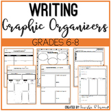 Writing Graphic Organizers - Common Core Aligned