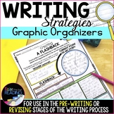 Writing Graphic Organizers for Prewriting & Strategies for