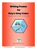 Writing Graphic Organizers for Rory's Story Cubes