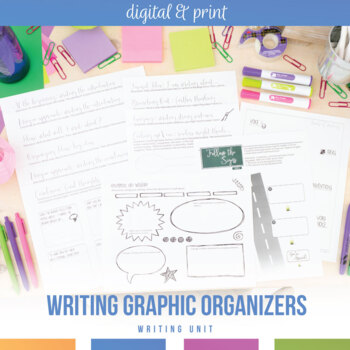 Writing Graphic Organizers for Secondary Students