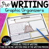 Writing Graphic Organizers for the Prewriting Stage of the