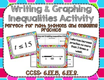 Writing and Graphing Inequalities