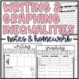 Writing & Graphing Inequalities   Notes to Color & Homework or Practice