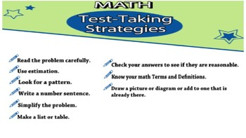 Writing & Graphing Inequalities and Test Taking Strategies
