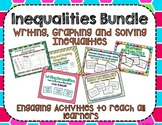Writing, Graphing and Solving Inequalities Bundle