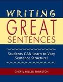 Writing Great Sentences