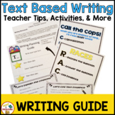 FSA Text Based Writing Guide and Resources | 4th and 5th Grade