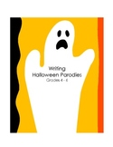 Writing Halloween Parodies (Part 1 of 5)