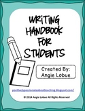 Writing Handbook for Students