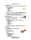 Writing Handout: The Multi-Paragraph Essay and Thesis Statements