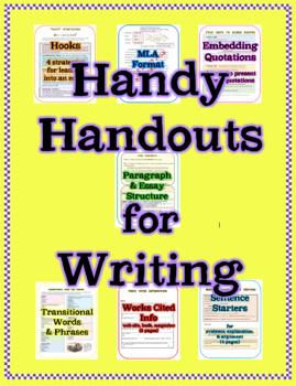 Writing Handy Handouts