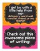 Writing Helper Bulletin Board