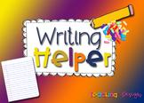 Writing Helper for Pre-K, Kindergarten, & First Grade
