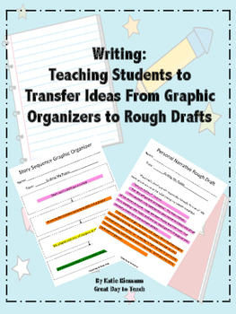 Writing: Highlighters to Transfer Information from Graphic Organizers