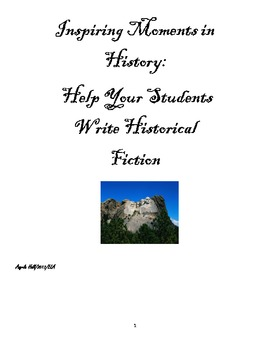 Writing Historical Fiction for Middle School