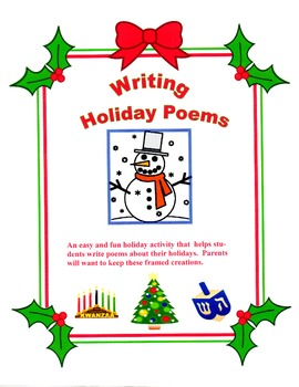 Writing Holiday Poems