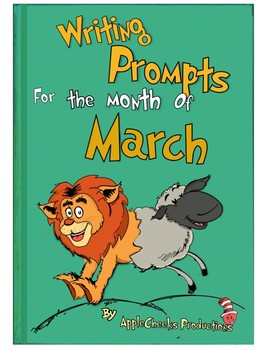 Writing Homework for the Month of March 31 Prompts (Individual Response Sheets)