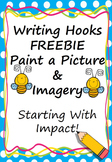 Writing Hook Imagery FREEBIE (Starting With Impact) American English