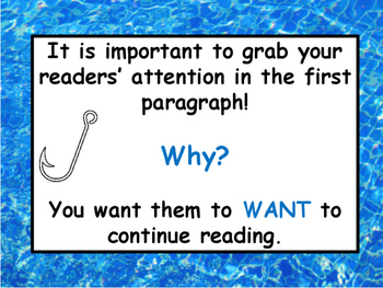 Writing: Hook Your Reader