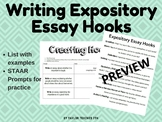 Writing Expository Essay Hooks