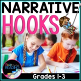 FREE Writing Hooks: Narrative Writing Hooks Poster & Hooks Writing Practice