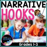 FREE Writing Hooks: Narrative Writing Hooks Poster & Hooks Writing Practice