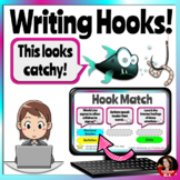 Writing Hooks & Leads for Argument: Digital Google Slides: Google Classroom
