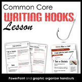 Writing Hooks Lesson