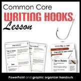 Writing Hooks Lesson