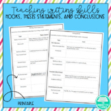 How to Write Thesis Statements Hooks and Conclusions