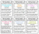 Writing Hooks and Conclusions Charts Bundle