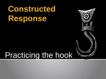 Teaching Students how to Write Hooks for Constructed Responses