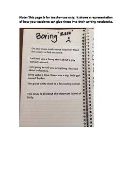 Writing Hooks for your Essays!