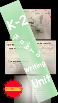 "Writing ""How-To"" Unit"