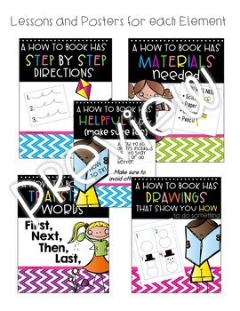 How to Books 1st Grade Writing & 2nd Grade ~ Informational Writing 1st Grade
